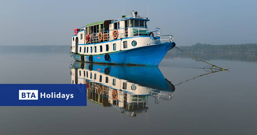 BTA Holidays small boat for private Sundarban Tour