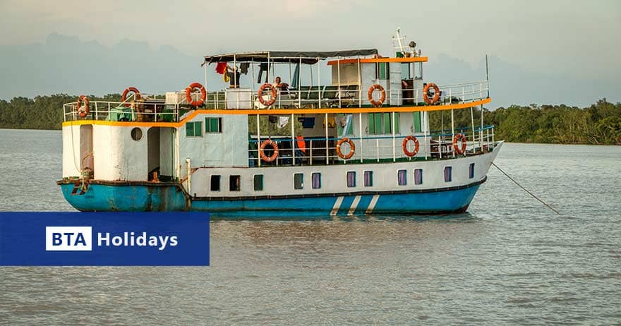 BTA Holidays medium boat for private Sundarban Tour