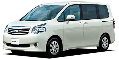 NOAH minivan rental in Bangladesh