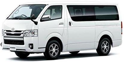 Hiace van rental in Bangladesh